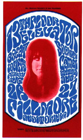 Jefferson Airplane Rare Concert Posters Of The 60 S And
