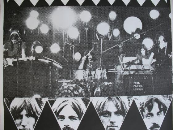 Pink Floyd Rare Concert Posters Of The 60 S And 70 S Postergeist