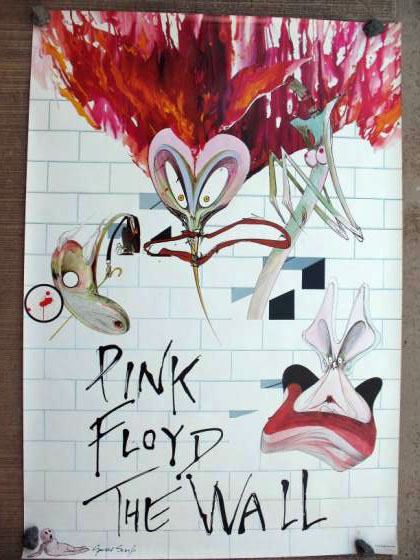 "PINK FLOYD / THE WALL - 1979 - 40"" x 33"" -Large promotional poster,"