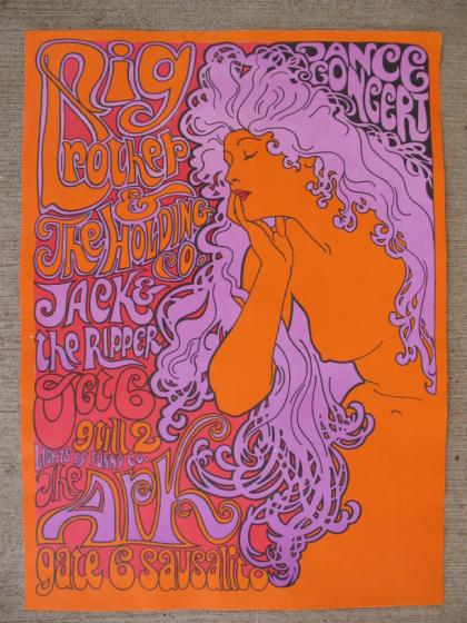 Wonderful MISCELLANEOUS 60'S AND 70'S CALIFORNIA CONCERT POSTERS AND  QB17