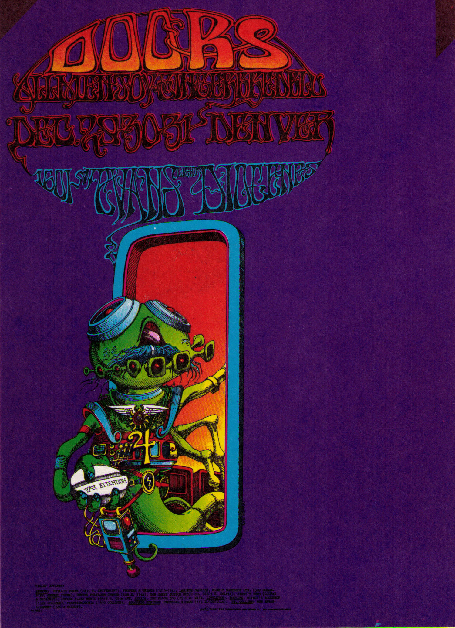 //.postergeist.com/posters/scans3/FDD18.jpg  sc 1 st  PosterGeist! & THE DOORS - Rare Concert Posters of the 60u0027s and 70u0027s - PosterGeist! pezcame.com